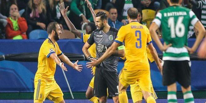 Champions, 4ª giornata: Sporting-Juventus 1-1, bianconeri dall'inferno al (mezzo) paradiso