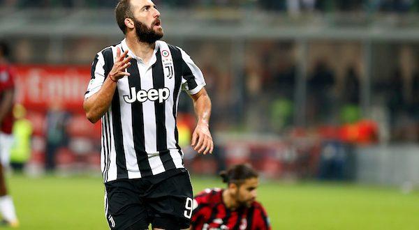 Serie A, 11ª giornata: Milan-Juventus 0-2, Higuain devastante!