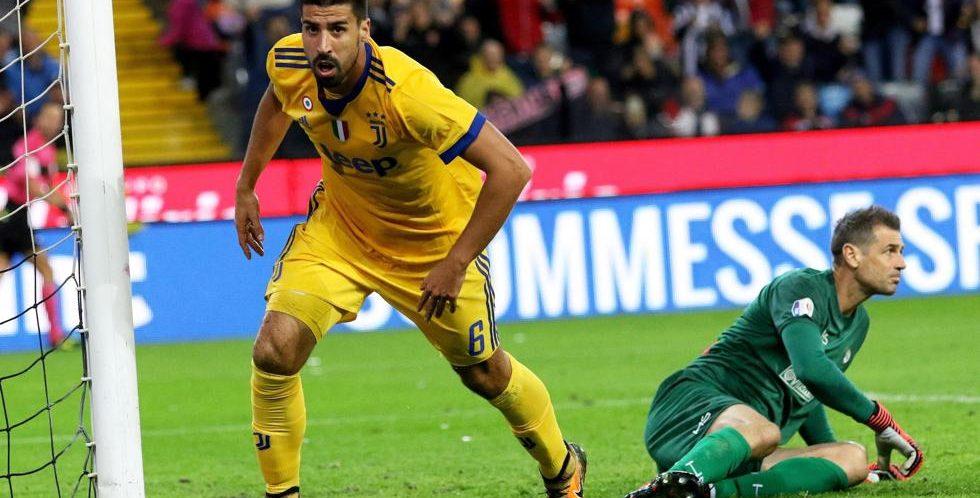 Serie A, 9ª giornata: Udinese-Juventus 2-6; triplo Khedira, Signora rinata!
