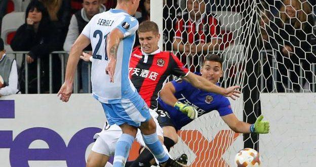 Europa League, 3ª giornata: Nizza-Lazio 1-3, biancocelesti? no, squadra d'oro!