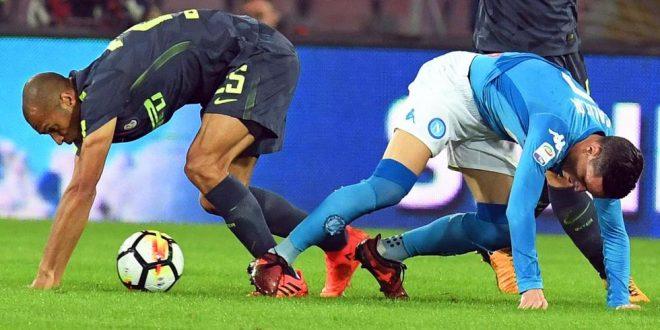 Serie A, il post Napoli-Inter: Sarri frenato, nerazzurri contenti così