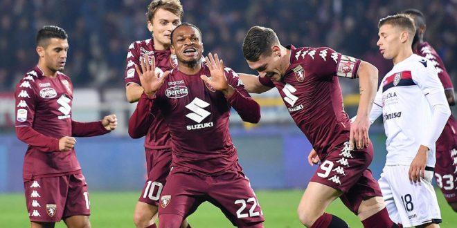 Serie A, 11ª giornata: Torino-Cagliari 2-1, ribaltone granata e Miha si salva