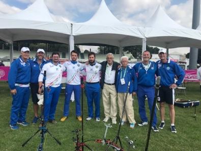 Mondiali tiro con l'arco 2017: squadra maschile lotta per l'oro, eliminati gli individualisti