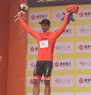 Tour of Taihu Lake 2017, Mareczko sigla il tris ed è il nuovo leader