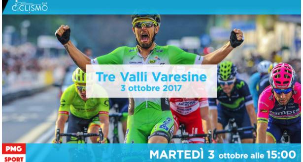 Ciclismo Cup, Tre Valli Varesine 2017 in diretta streaming su Mondiali.net