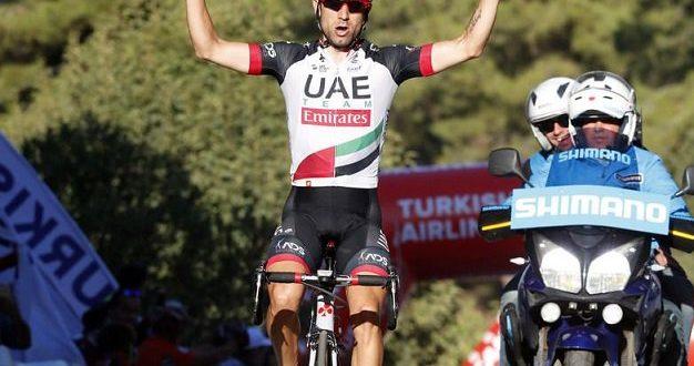 Giro di Turchia 2017, Ulissi primo a Selcuk: tappa e maglia