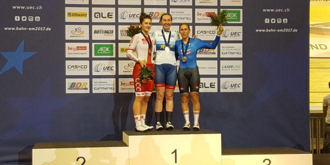 Europei pista 2017, 3^ giornata: Valsecchi bronzo nell'inseguimento