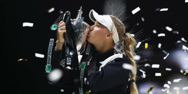 WTA Finals 2017, the winner is Caroline Wozniacki