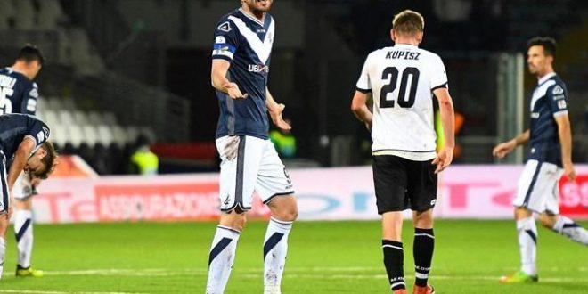 Serie B, 16ª giornata: Cesena-Brescia 1-0, romagnoli non più ultimi