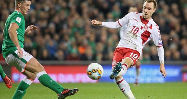 Playoff Mondiali 2018: Irlanda-Danimarca 1-5, super Eriksen trascina i suoi in Russia