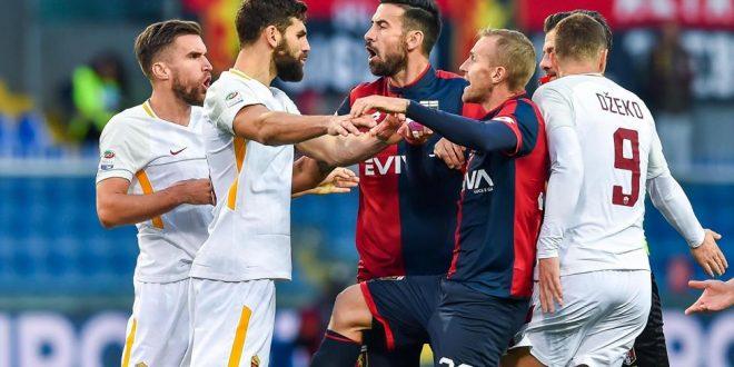 Serie A, 14ª giornata: il Napoli risponde e torna primo; follia De Rossi, Roma frenata. Ahi Milan