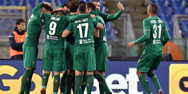 Serie A, 14ª giornata: Lazio-Fiorentina 1-1, nel finale episodio deciso col VAR