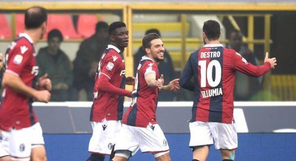 Serie A, 14ª giornata: Bologna-Sampdoria 3-0, i felsinei schiantano il Baciccia