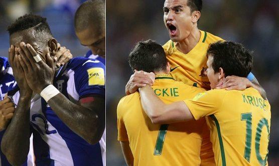 Australia-Honduras 3-1: Jedinak regala ai Socceroos il pass per i Mondiali in Russia