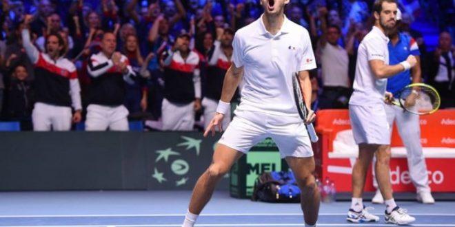 Finale Coppa Davis 2017, la Francia vince il doppio