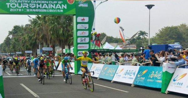 Tour of Hainan 2017, ancora Mareczko: sono quattro di fila!