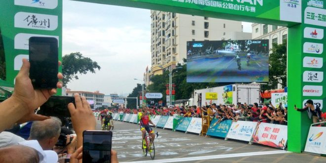 Tour of Hainan 2017, è dominio Wilier: Jacopo Mosca re della tappa regina