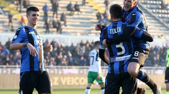 Coppa Italia, ottavi: Atalanta-Sassuolo 2-1, sarà la Dea l'avversaria del Napoli