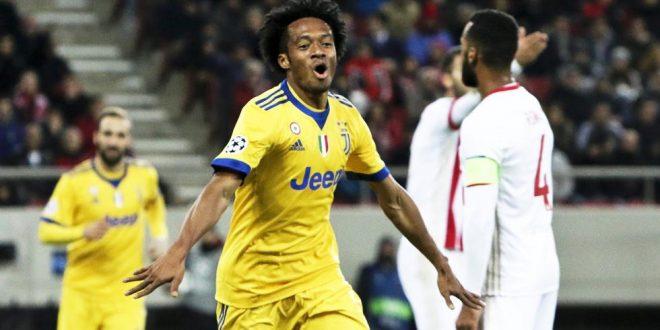 Champions, 6ª giornata: Olympiakos-Juventus 0-2, bianconeri agli ottavi