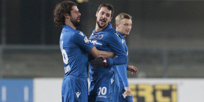 Serie A, 18ª giornata: a Verona re-gol-i di Natale, passa il Bologna