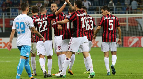 Europa League, 6ª giornata: anteprima Rijeka-Milan