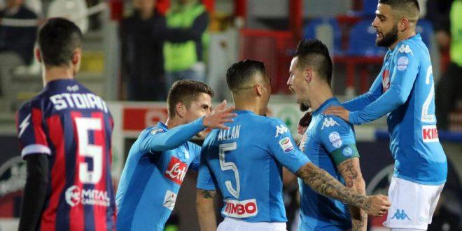 Serie A, 19ª giornata: Crotone-Napoli 0-1, ancora Marekiaro! Azzurri campioni d'inverno