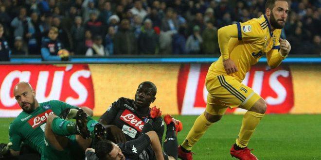 Serie A, 15ª giornata: Napoli-Juventus 0-1, Higuain ancora core ingrato, sono 5 su 5!