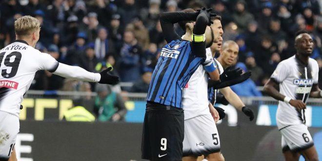 Serie A, 17ª giornata: Inter-Udinese 1-3, colpaccio friulano a San Siro!