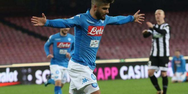 Coppa Italia, ottavi: Napoli-Udinese 1-0, Insigne entra e graffia