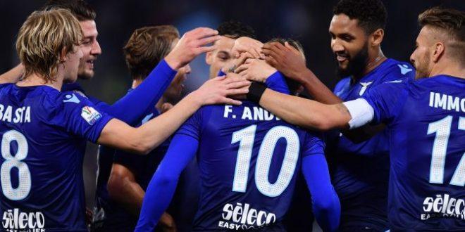 Coppa Italia, ottavi: Lazio-Pordenone 4-1, Immobile e Anderson tornano grandi