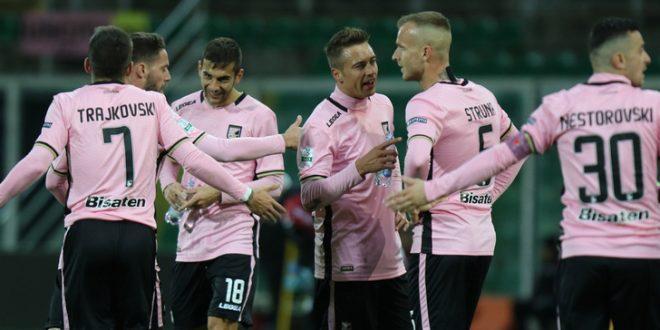 Serie B, 21ª giornata: Palermo campione d'inverno; Frosinone ok, frena ancora il Bari