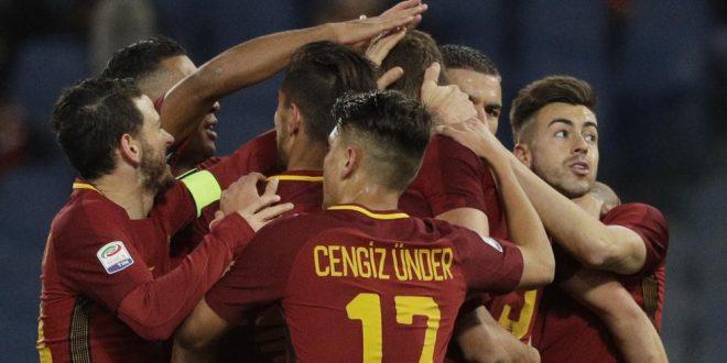 Serie A, 15ª giornata: Roma-Spal 3-1, comodo tris per Di Fra