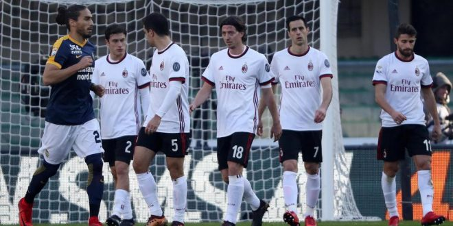 Serie A, 17ª giornata: Verona-Milan 3-0, disastro rossonero al Bentegodi