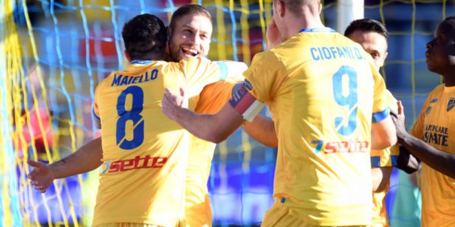 Serie B, 22ª giornata: Frosinone nuova capolista, dietro frenano tutte tranne l'Empoli