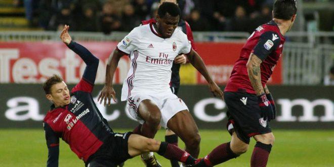 Serie A, 21ª giornata: Cagliari-Milan 1-2, Kessié rimonta e fa sorridere il Diavolo