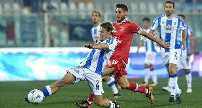 Serie B, 23ª giornata: Pescara-Perugia 0-2, il Grifone a -1 da Zeman