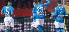 Serie A, 23ª giornata: Benevento-Napoli 0-2, gli azzurri rilanciano in vetta