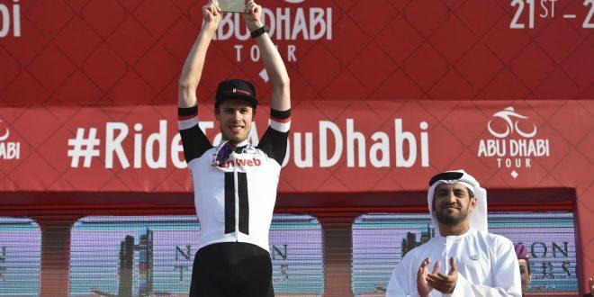 Abu Dhabi Tour 2018, Bauhaus si prende la terza tappa