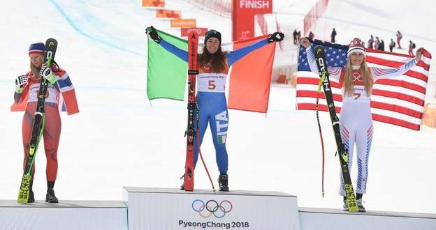 Olimpiadi PyeongChang 2018, favolosa Goggia: è oro nella discesa!