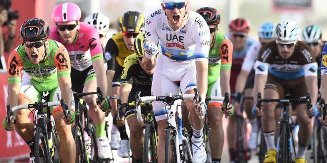 Abu Dhabi Tour 2018, Kristoff mette tutti in fila. Secondo Guardini