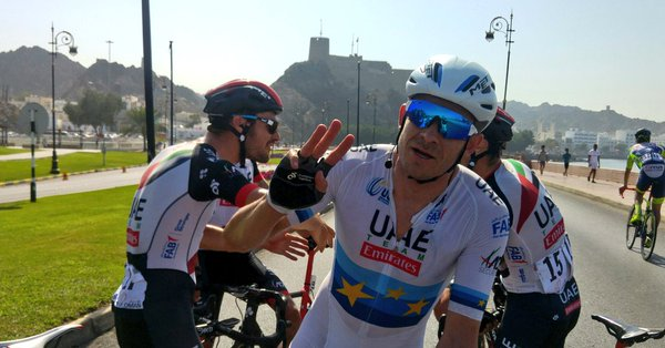Tour of Oman 2018, vittoria finale di Lutsenko. Ultima tappa a Kristoff