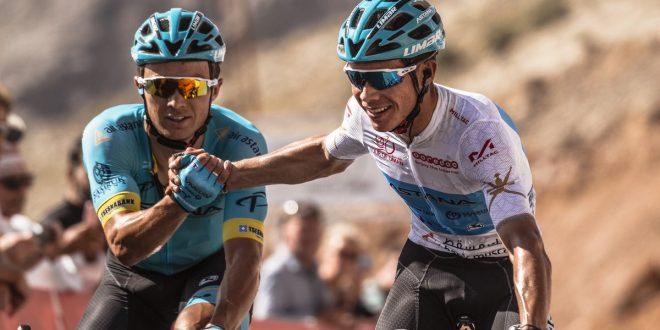 Tour of Oman 2018, dominio Astana sulla Green Mountain: Lopez primo, Lutsenko leader