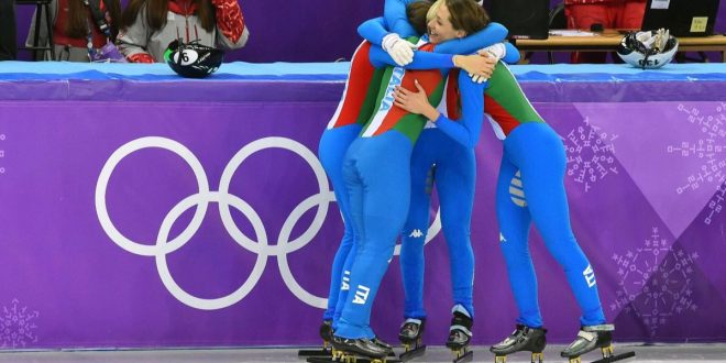 Olimpiadi Pyeongchang 2018, staffette da podio: argento e bronzo da short track e biathlon
