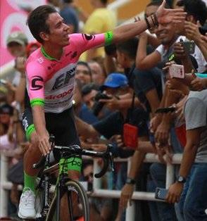 Colombia Oro Y Paz 2018: Uran batte Quintana, nuovo leader