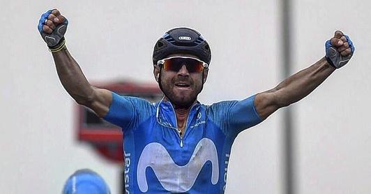 Giro della Catalogna 2018, Valverde vince a Valls: è il nuovo leader