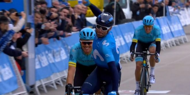 Volta Valenciana 2018, è già Valverde! Besseges, successo di Laporte