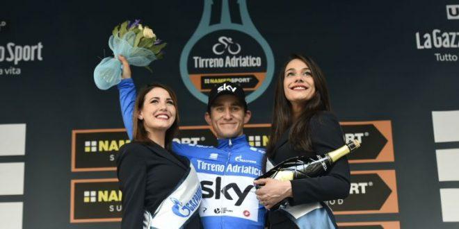 Kwiatkowski conquista il Tridente e vince la Tirreno-Adriatico 2018