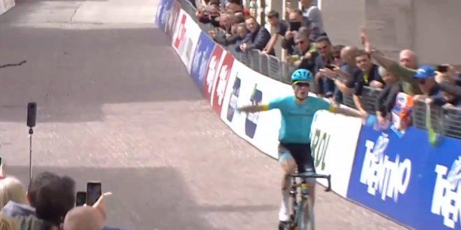 Tour of the Alps 2018, stoccata vincente di Pello Bilbao a Folgaria