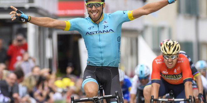 Giro di Romandia 2018: Fraile vince a Delémont, secondo Colbrelli