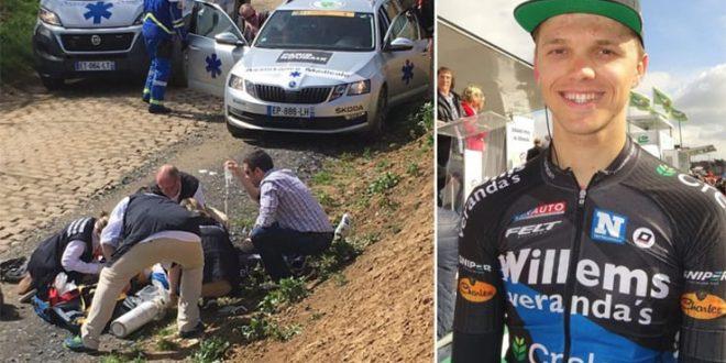 Tragedia alla Roubaix 2018, muore il giovane belga Goolaerts